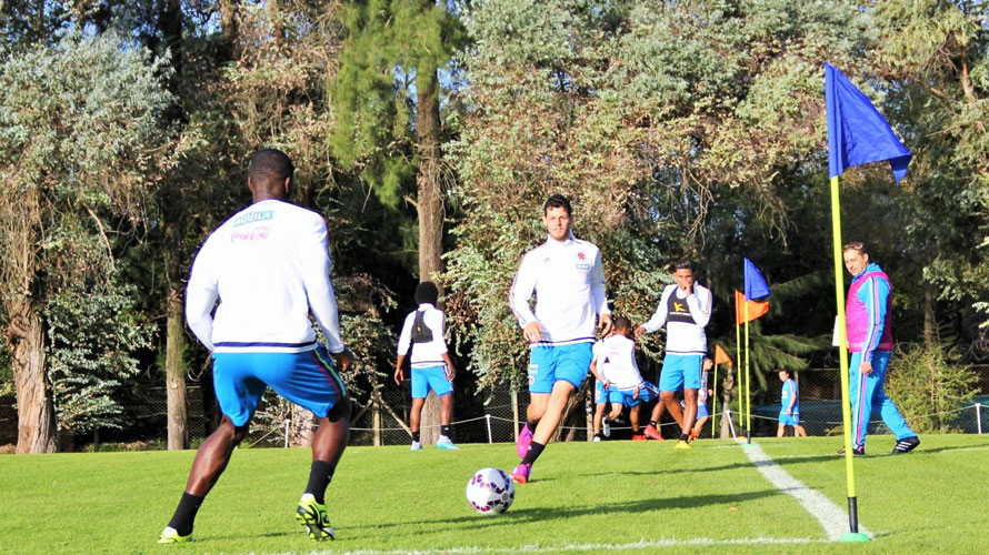 colombia training. Argentina 2015