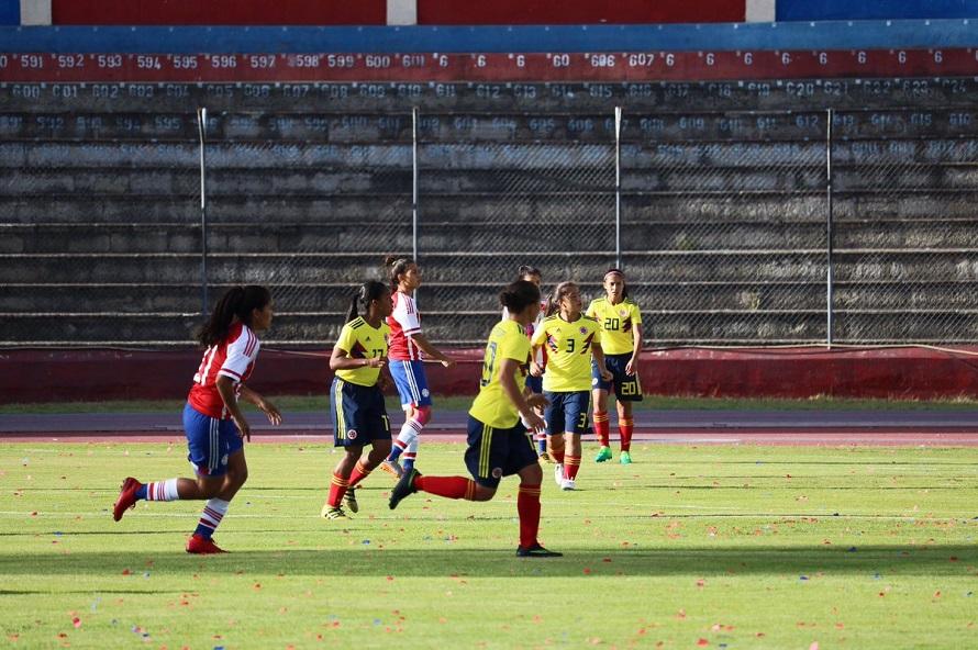 Colombia Paraguay Sub20 Femenino